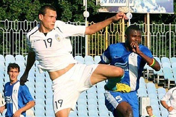Ukrajinský útočník Sergij Kurta strieľal na jeseň góly za Nové Zámky.