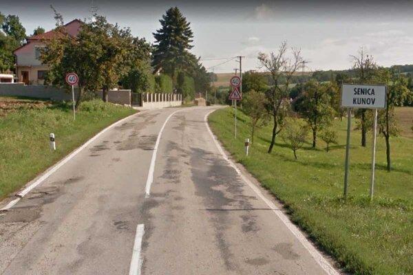Cestu Senica - Kunov čaká čiastočná uzávierka.