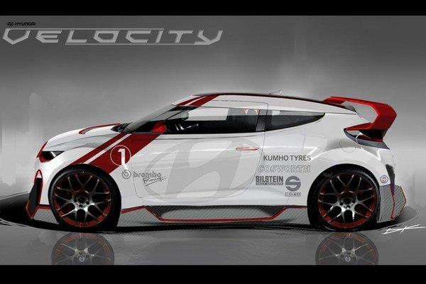Hyundai Veloster Turbo Velocity koncept pripravia pre výstavu SEMA 2012, ako funkčný prototyp.