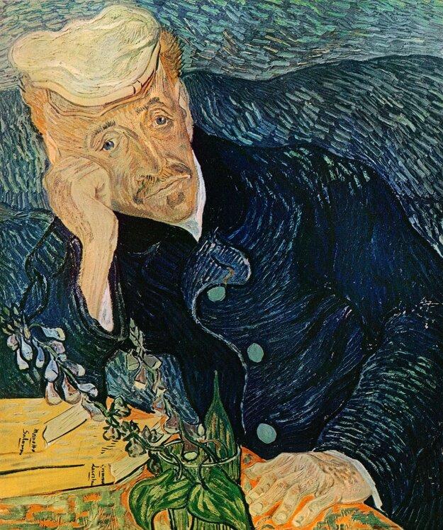 Vincent van Gogh: Portrét Dr. Gacheta (1884)