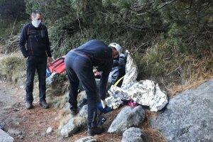 V Tatrách zachraňovali mladého turistu.