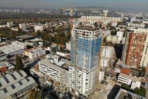 Výstavba projektu Matadorka.