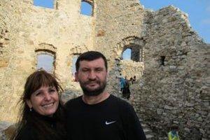 Stanislava a Jozef Blahoví - záchrancovia hradu Hrušov.