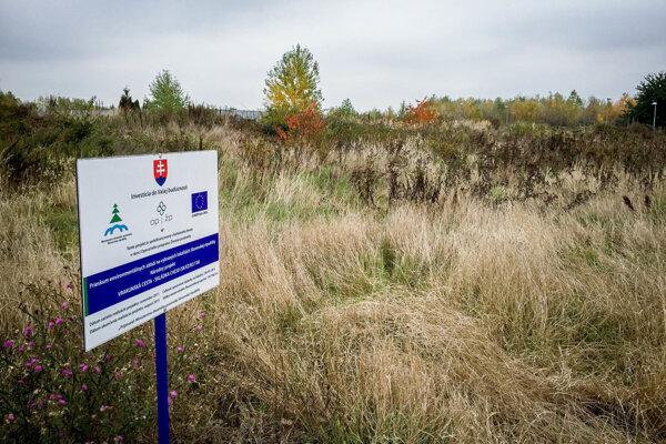 Podzemná skládka chemického odpadu z bývalej Dimitrovky vo Vrakuni.