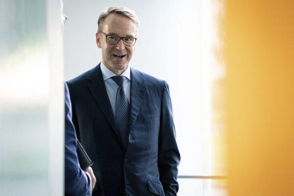 Šéf nemeckej centrálnej banky Bundesbank Jens Weidmann.