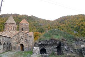 Aj územie okolo kláštora Dadivank čoskoro ovládne Azerbajždna.