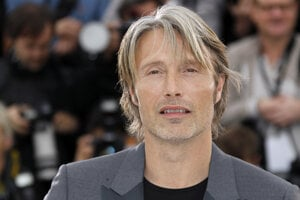 Dánsky herec Mads Mikkelsen.