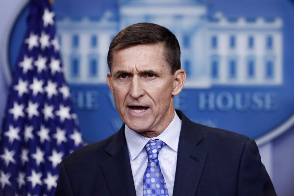Trumpov exporadca pre národnú bezpečnosť Michael Flynn.