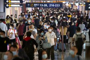 Letisko v Šanghaji.