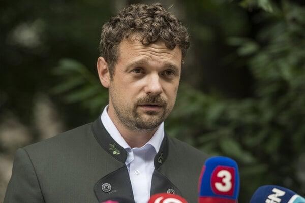 Matej Vigoda, už bývalý generálny riaditeľ štátneho podniku Lesy SR.