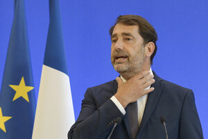Šéf poslaneckého klubu LREM Christophe Castaner.