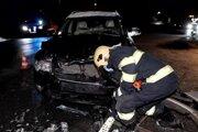 Dopravná nehoda v Ochodnici.