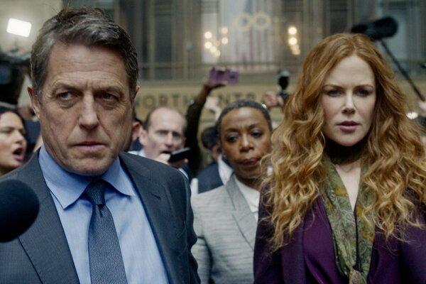 Hugh Grant a Nicole Kidman v seriáli Mala si to vedieť.