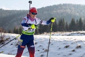 Slovenská biatlonistka Aneta Smerčiaková.