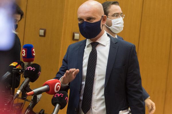 Minister školstva, vedy, výskumu a športu Branislav Gröhling (SaS).