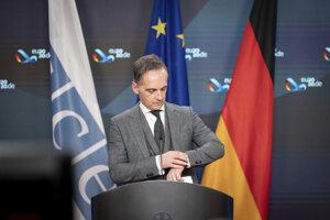 Nemecký minister zahraničných veci Heiko Maas.