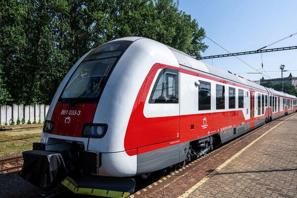 Železnice predstavili nové vlaky.