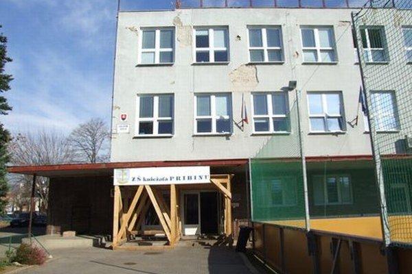 Základná škola kniežaťa Pribinu v Nitre.