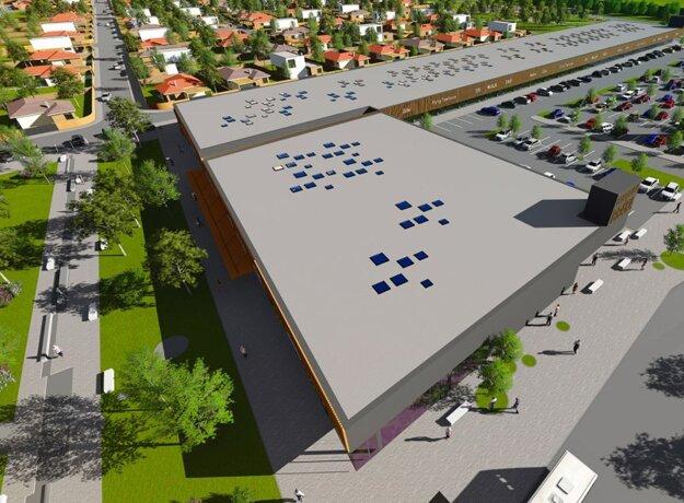 Vizualizácia projektu Podunajská brána.