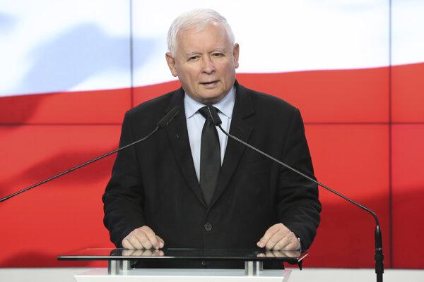 Poľský vicepremiér a šéf vládnej strany Právo a spravodlivosť (PiS) Jaroslaw Kaczyňski.