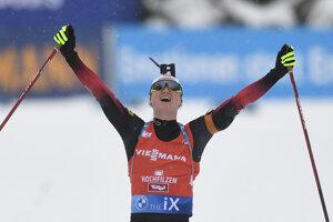 Marte Olsbu Röiselandová vyhrala stíhacie preteky 3. kola Svetového pohára biatlonistiek.