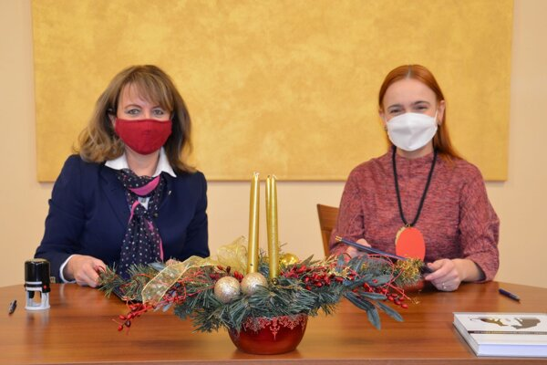 Zuzana Stanová (vľavo) a Jana Mojžišová.