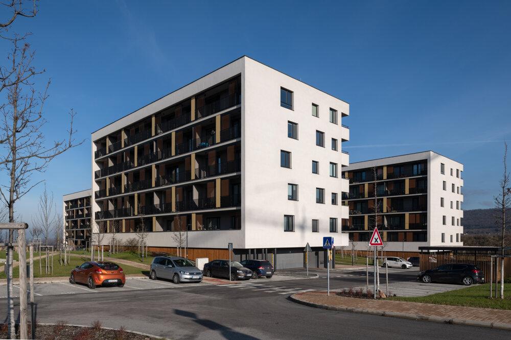 Projekt Bory bývanie má zatiaľ desať zabývaných bytoviek.