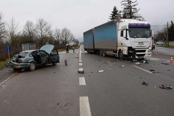 Nehoda pri Drienovci.