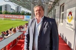 Prezident klubu MFK Tatran Liptovský Mikuláš Milan Mikušiak.