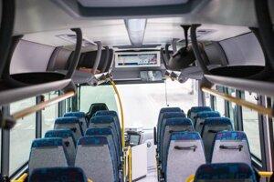 Nový autobus typu Iveco Crossway.