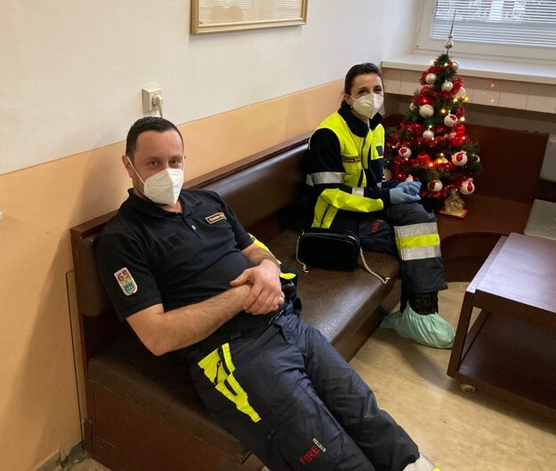 Dobrovoľní hasiči z Korne darovali krv.