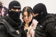 Alena Zsuzsová počas hlavného pojednávania vo veci vraždy novinára Jána Kuciaka a jeho snúbenice Martiny Kušnírovej na Špecializovanom trestnom súde v Pezinku. (14.1.2020)