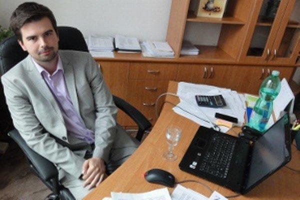 Riaditeľ nemocnice Martin Cimrák.