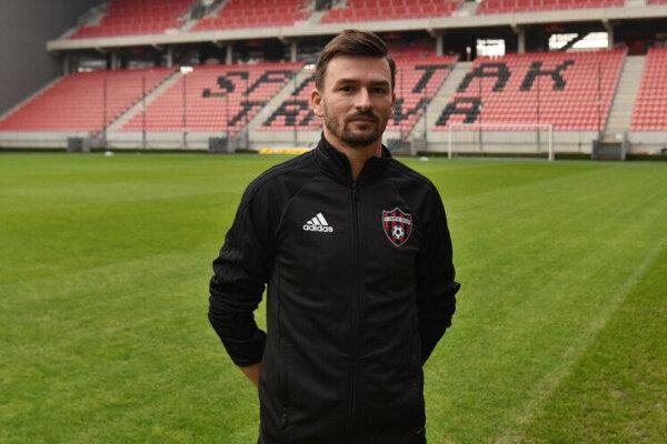 Tréner FC Spartak Trnava Michal Gašparík ml.
