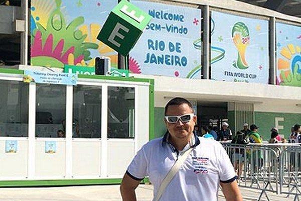 Šéf cestovky Goal Travel Marek Farkaš si osobne vychutnal atmosféru MS v Brazílii.