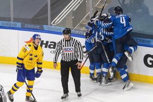 Fínsko zdolalo Švédsko na MS v hokeji do 20 rokov 2021.