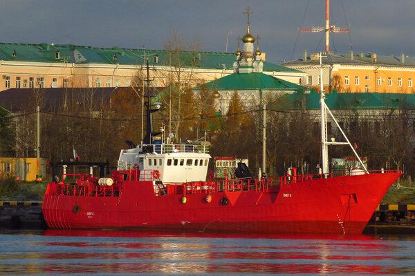 Rybárska loď Onega na archívnej snímke.