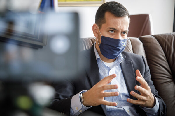 Podpredseda Národnej rady Juraj Šeliga (Za ľudí).
