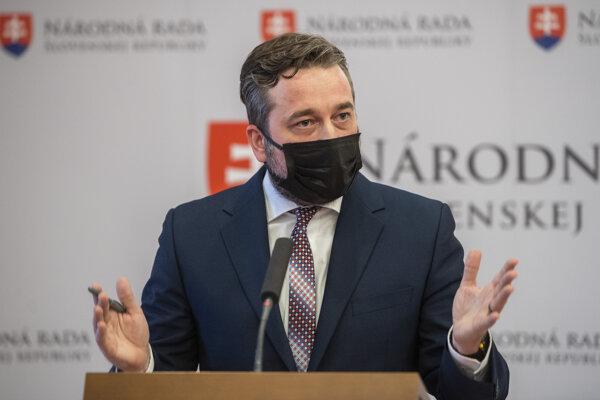 Poslanec Ľuboš Blaha (Smer).
