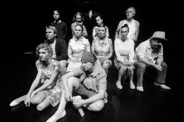 Predstavenie podľa Lollikeovej divadelnej adaptácie s hercami SDKS pripravil režisér Šimon Spišák.
