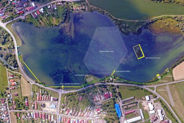 Štúdia komplexného nového centra pre obec Malá Domaša.