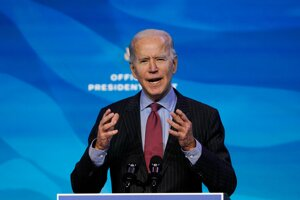 Budúci americký prezident Joe Biden.