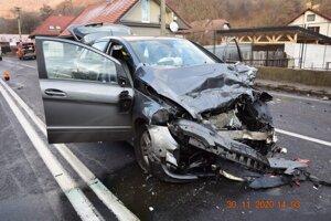 Nehoda v Jakube si vyžiadala štyroch zranených.