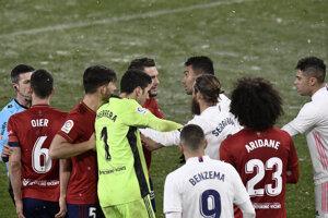 Zápas Osasuna - Real Madrid.