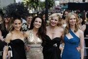 Štvorica zo Sexu v meste: Sarah Jessica Parker, Kristin Davis, Kim Cattrall a Cynthia Nixon.