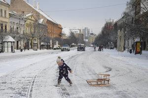 Košická Hlavná ulica v stredu.