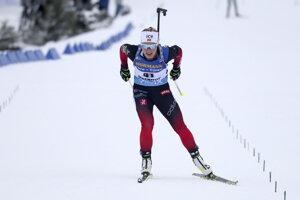 Tiril Eckhoffová vyhráva šprint v Oberhofe.