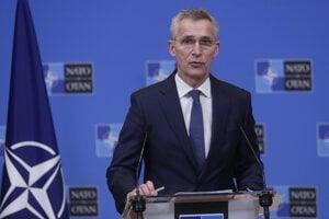 Generálny tajomník NATO Jens Stoltenberg.