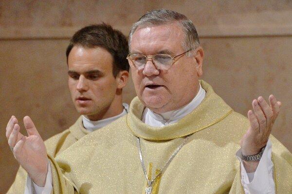 Žilinský biskup Tomáš Galis.