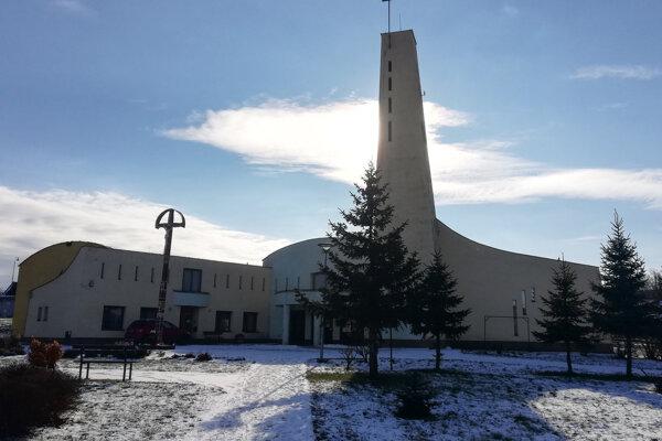 Rímskokatolícky kostol v Kriváni.
